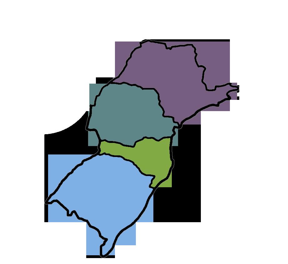 Área de cobertura DL8 Logística: RS, SC, PR, SP